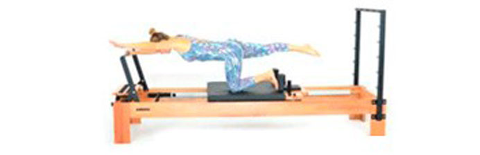 Pilates: Pushing One Side Arm