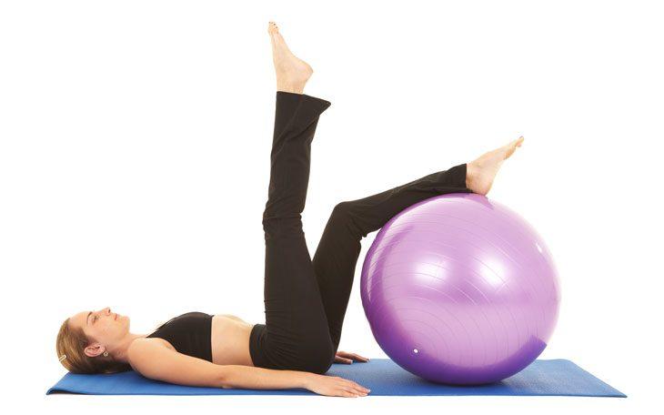 pilates-swissball