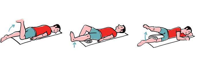 Exercícios para o tratamento do Menisco