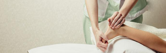 Tratamento Fisioterapêutico no Tornozelo
