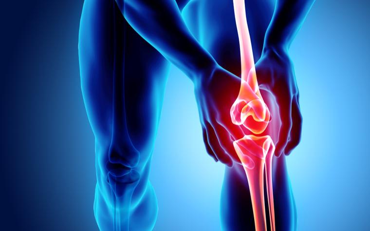Canela dor durante execução a medial na