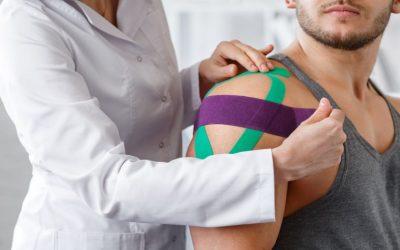 Kinesio Taping para tratamento de ombro: como ele auxilia na dor